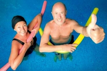 Wassergymnastik 50plus