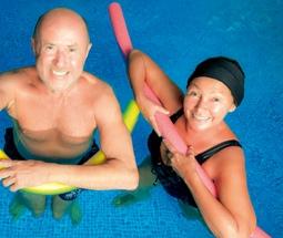 Funktionelle Wassergymnastik mit Schwerpunkt Rücken